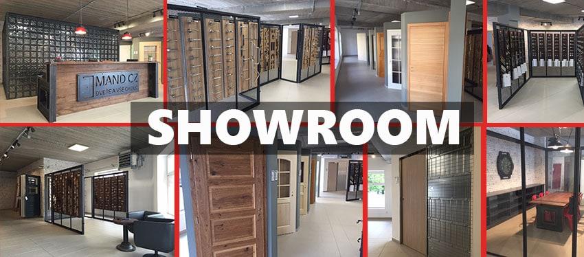 Showroom - Praha - dřevěné dveře