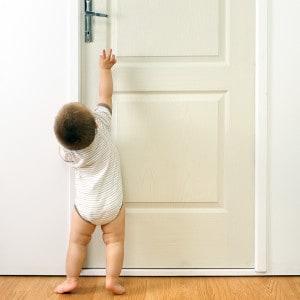 děti a dveře
