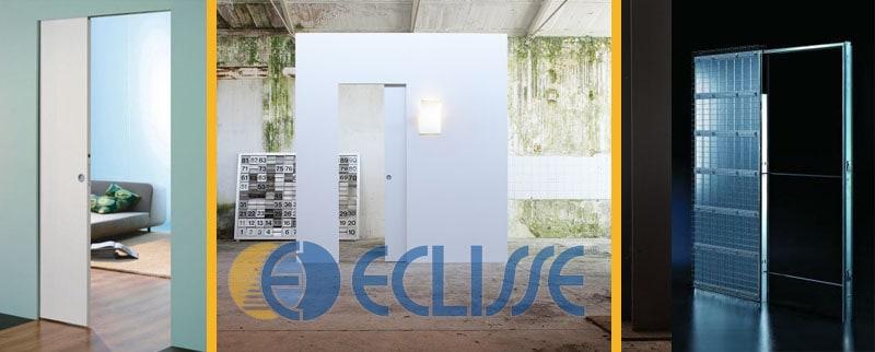 bílé dveře eclisse