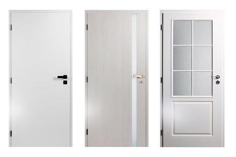 bílé dveře cag