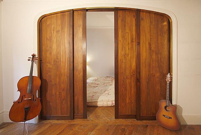 dveře do pouzdra masiv