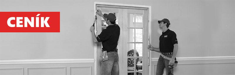 montáž dveří a zárubní