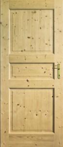 Dveře borovice
