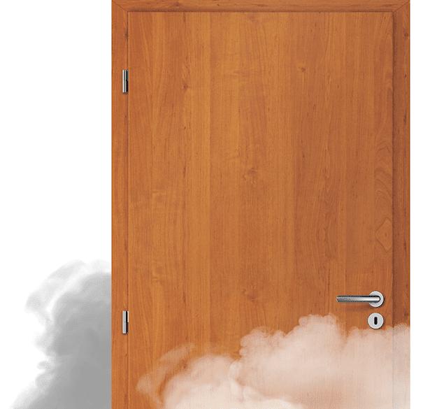 kouřotěsné dveře