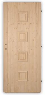 Palubkové dveře Quatro plné - střed
