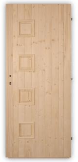 Palubkové dveře Quatro plné - zámek