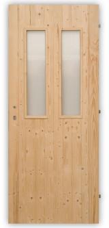 Palubkové dveře Twins