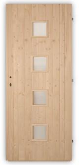 Palubkové dveře Quatro - střed