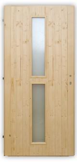 Palubkové dveře Vertikal - střed