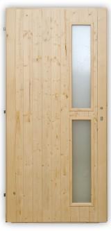 Palubkové dveře Vertikal - zámek