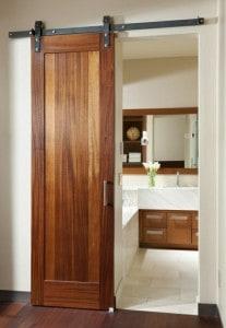 dřevěné posuvné dveře 1