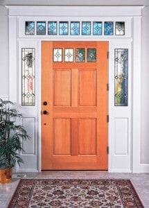 dveře s nadsvětlíky