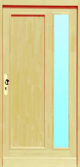 vchodové dveře IVETA 1K1S