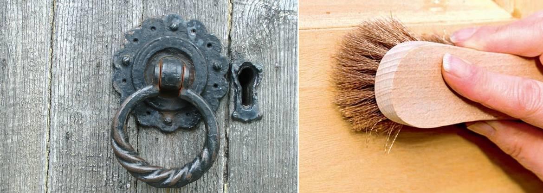 Péče o dřevěné dveře náhledový obrázek