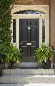 Vchodové dveře jako první prozrazují atmosféru u vás doma
