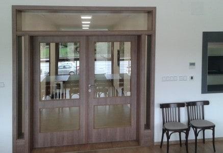 Dveře CAG dvoukřídlé