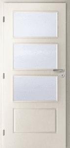 bílé dveře CAG Kvadrant
