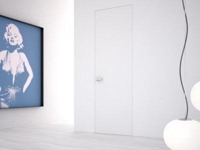 bílé dveře Eclisse Syntesis Battente