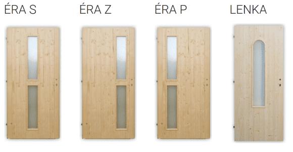 Palubkové dveře vchodové Éra, Lenka