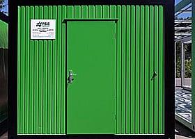 Plechové dveře