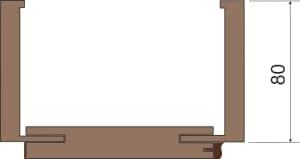 profil zárubně č. 3