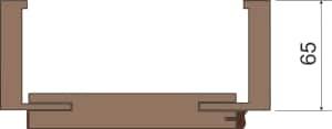 profil zárubně č. 6