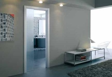 Celoskleněné posuvné dveře Eclisse