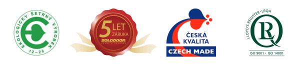 SOLODOOR česká kvalita czech made