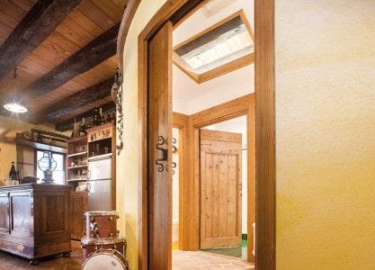 Eclisse Cirkulár dřevěné dveře