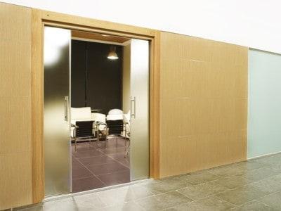 Posuvné dveře do stavebního pouzdra Eclisse dvoukřídlé