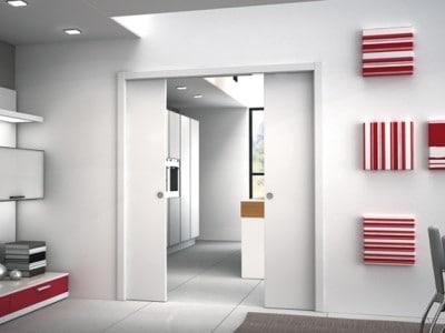 Posuvné dveře Eclisse zmizí do stěny
