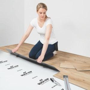 pokládka podlahy Quick-Step